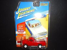 Johnny Lightning Ford F250 1959 Red Jlcp7004 1/64 Limited Edition