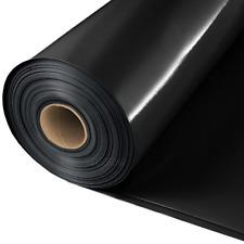 Baufolie 100 mµ Estrichfolie Abdeckfolie PE Folie schwarz 0,100mm 2x50m 100m²
