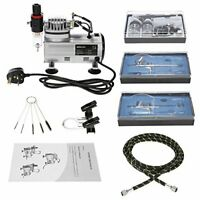 KKmoon Airbrush Sets with Airbrush Compressor and Dual Action Airbrush Kit