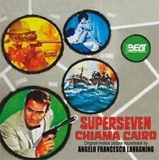 Angelo Francesco Lavagnino: Superseven Chiama Cairo (New/Sealed CD)