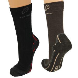 Lasting Trekkingsocken Wolle WHI Wander Socken Merino Qualität Trekking Sport