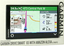 Garmin DriveSmart 65 Automotive Mountable GPS Navigator with Amazon Alexa NEW