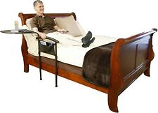 Stander Independence Bed Table - Home Bed Rail And Overbed Swivel Table