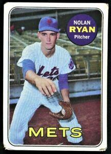 1969 Topps Nolan Ryan New York Mets #533