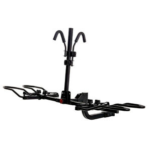 KAC Hitch Mounted Platform Bike Rack w/ Tilting For Electric & Fat Tire
