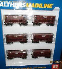 Ho Walthers 24' Minnesota Ore Car 6 pack SOO Line Railroad #1 -  910-58019