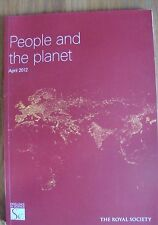 People and the Planet. The Royal Society.