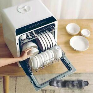 Tragbarer Mini GeschirrspülerTischgeschirrspüler vollintegriertTrockenfunktion