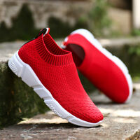 Lady Womens Outdoor Flats Sports Breathable Casual Sneakers Running Socks Shoes