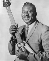 Blues Soul Singer ALBERT KING Glossy 8x10 Photo Music Guitarist Print Poster