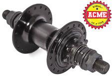 KHE BMX Back Wheel Hub Acme 36 Hole 9 Teeth Pinion 0 9/16in Aluminium S/B Black