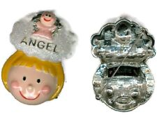 / Brooch p1148-2 Vintage Danecraft Angel Pin