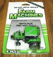 DEUTZ ALLIS 7085 Tractor 1/64 Ertl Toy #2234 Farm Show Edition 1988 Dual Wheels