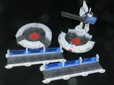 TAU TIDEWALL TERRAIN SET - Painted Gunrig Shieldline Warhammer 40k T'au Empire