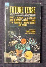 1968 FUTURE TENSE 1st Dell 2769 Anthology Paperback VG Issac Asimov