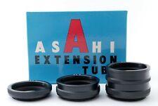 Asahi Pentax Takumar M42 Mount Extension Tube Set No.1 2 3 in case #633
