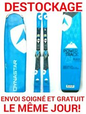 """ski occasion DYNASTAR """"POWER TRACK 79"""" taille:180cm+ fixations"""