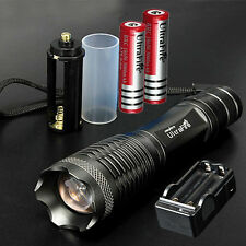 UltraFire 10000lm CREE XML T6 Bike Light 2xFlashlight Torch Lamp+18650+Charger