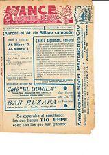 En Bilbao v Atlético Madrid 24 de junio de 1956 quinelista valenciano Post coinciden con problema