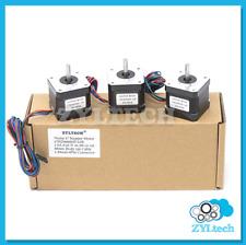 Zyltech 3X Nema17 Stepper Motor 1.5 A 0.42 Nm 59 ozin for 3D printer and CNC