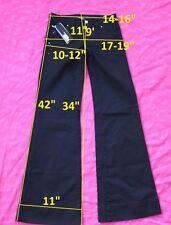 139$ NWT Miss Sixty DL0041 NEW TULUM W25 L33 jeans flare stretch cotton black