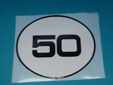 Hercules Enduro Supra 50 Seitendeckel Design Sticker Schriftzug Dekor Aufkleber