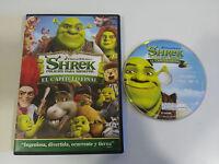 SHREK FELICES PARA SIEMPRE EL CAPITULO FINAL DVD EDICION ESPAÑOLA DREAMWORKS