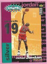 1995-96 Collectors Choice Michael Jordan C1 Crash The Game March 19 *R3