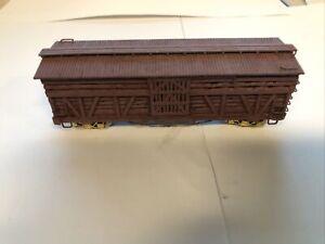 Hon3  Stock Car Unlettered Wood Built