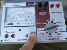 Metratester  Multimeter