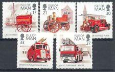 Isla de Man 1991 Yvert nº 507/11 Coches de bomberos
