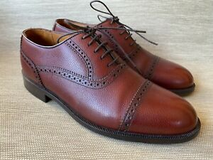 Florsheim Imperial Men's Leather Cap Toe Oxfords, Size 7.5 D