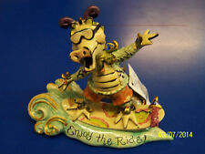 Enjoy the Ride Dragon Surfing Heather Goldminc Blue Sky Clayworks Gift Figurine
