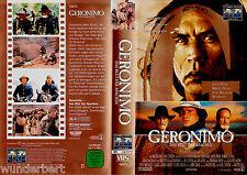 "VHS - "" Walter Hill`s - GERONIMO "" (1993) - Gene Hackman - Matt Damon"