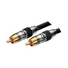 MX Subwoofer Ofc Composite Audio Rca Cable Heavy Duty Connectors - MX 2134