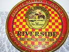 Rare 1920's 30's Riverside Brewing Corp. LTD Bohemian Lager Olde Derby Ale Tray