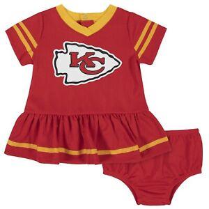 Kansas City Chiefs Baby Dazzle Dress & Panty Set - Gerber NFL