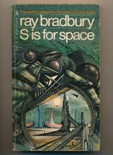 S is for Space by Ray Bradbury 1979 Bantam Books 13504-X