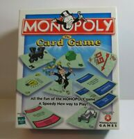 "2000 Hasbro Monopoly ""The Card Game"" 2-6 Players Ages 8 & Up"