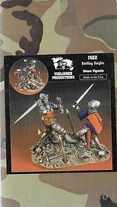 Verlinden  Battling Knights, 54mm Vignette, 1/32 Resin Figure Kit 1922  DO