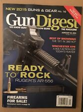 Gun Digest New Gear Ruger AR-556 Firearms For Sale Jan 22 2015 FREE SHIPPING!