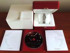 Mint Ladies Cartier Tank Francaise 18K Rose Gold/SS 2384 MOP 20mm Watch B & P