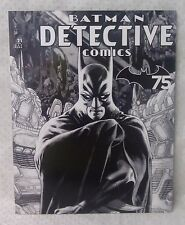 BATMAN DETECTIVE stamp set comic book style presentation 20 x 70c stamps MUH MNH