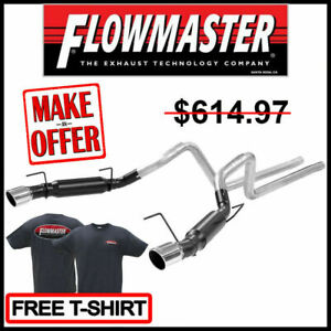 Flowmaster 2005-2010 Ford Mustang 4.6L / 5.4L Outlaw® Cat-Back Exhaust System