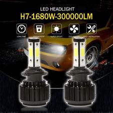 H7 1680W LED Scheinwerfer Birnen Headlight Leuchte Lampen Canbus 6000K 300000LM