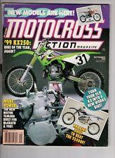 Motocross Action Magazine Sept 1998 Kawasal Kx250 Yamaha Built for Mc Grath