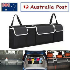 Back Seat Organiser Car Hanging Pouch Bag SUV Hatchback Trunk Boot Storage Tidy