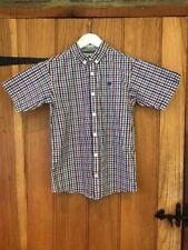 Jasper J Conran Lovely Boys Checked Shirt Age 12yrs 100% Cotton
