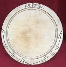 Carved Wooden Bread Board Kitchenalia Country Farmhouse Cottage Wood 28cm