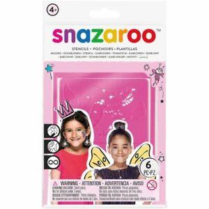 Snazaroo Fantasy Face Paint Stencils
